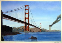 Golden Gate Postcard